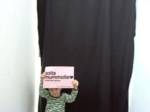 Photobooth photo from Soita Mummolle installation in MoA 2011